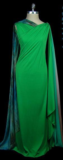 omgthatdress:  Dress Halston, 1970s The Frock
