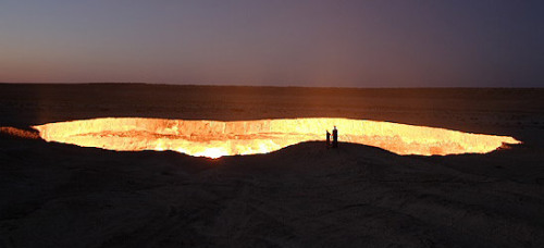 The gates of hell - Turkmenistán