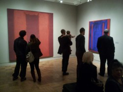 communicants:  Mark Rothko retrospective at the Portland Art Museum.