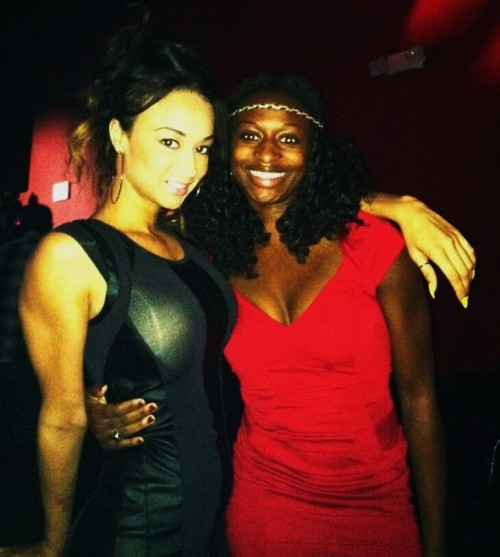 Basketball Wives LA reality star Draya Michele and I.