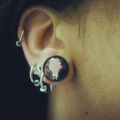 Finally able to get my favorite plugs in! LOVE!!! (Taken with instagram)