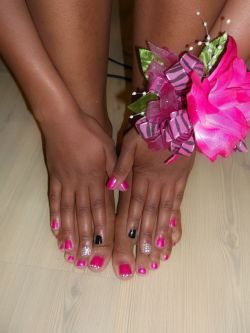 Prom Nails&Toes, 2k12