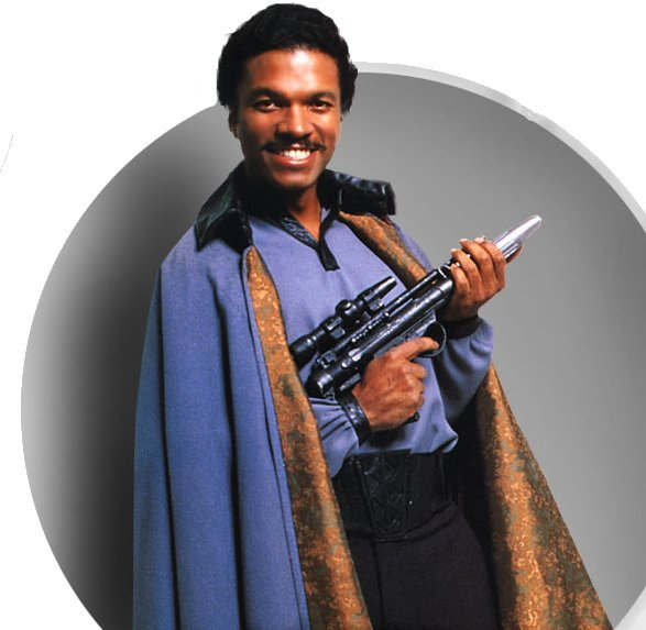 piratetreasure:  lando calrissian  having fun