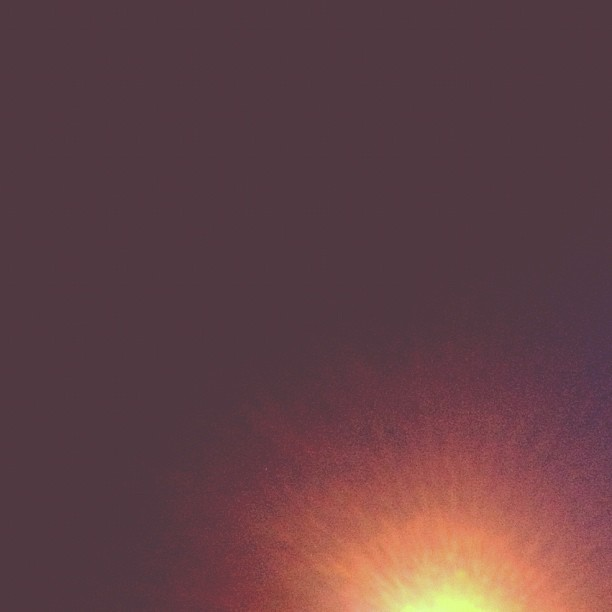 Out with a fizzle, back with a bang. #light #fade #dark #pop #yellow #orange #bright (Taken with instagram)
