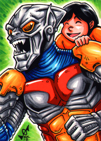 """Jet Goblin sketch card by gb2k"" This is one of the greatest things ever."