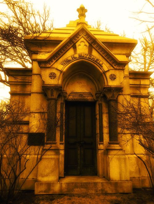 Graceland Cemetery Chicago , Il original cemetery photography by me
