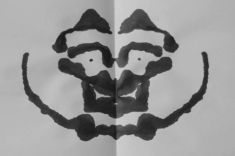 Inkblot of the Day #86 Instructions: Tell me what you see. -Enjoy