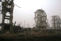 monuments of war - Grozny, Chechnya | Flickr - Fotosharing! on We Heart It. http://weheartit.com/entry/26348243
