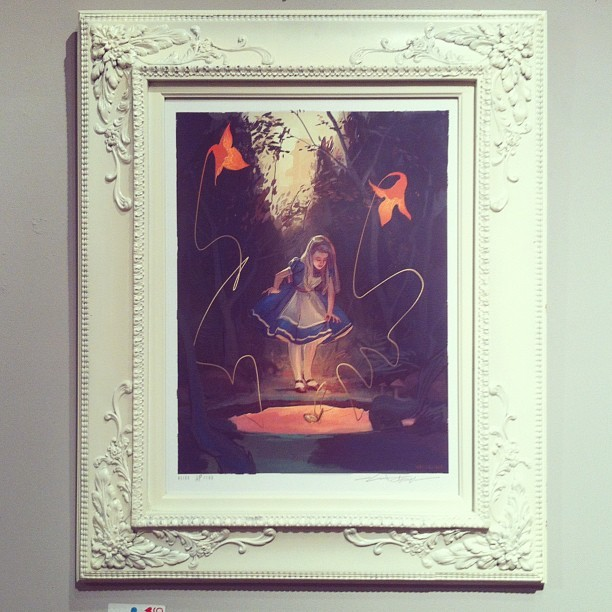 Alice final with framing. Print details coming soon.  (Taken with instagram)