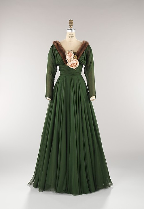 Dress Norman Norell, 1957 The Metropolitan Museum of Art