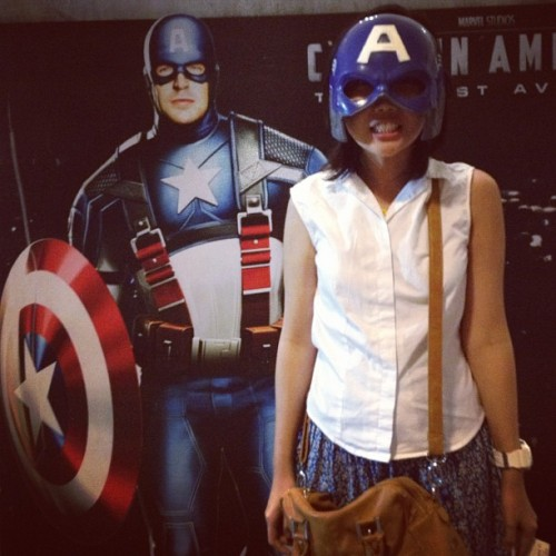 The Captain!  (Taken with Instagram at Shangrila Plaza Mall )