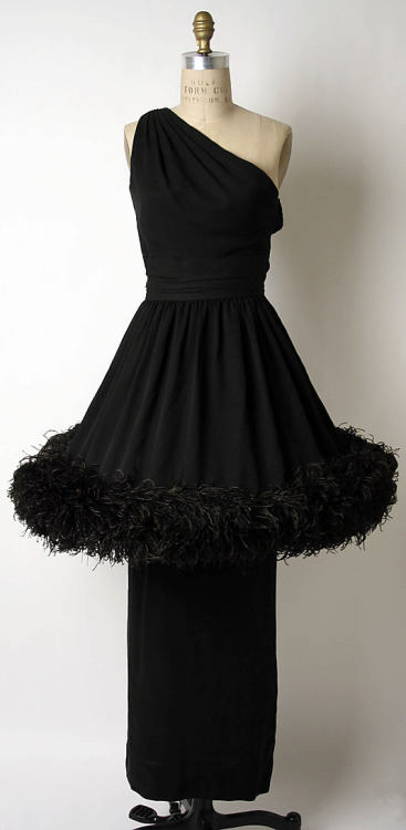 Dress Norman Norell, 1958 The Metropolitan Museum of Art