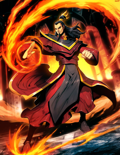 Avatar - Ozai by *GENZOMAN Genzo is quite honestly my favorite artist in the world.
