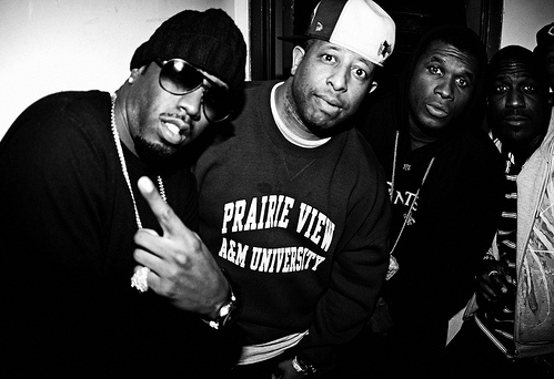 Puff Daddy, DJ premier and Jay Electronica