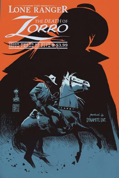 in-sequence:  Lone Ranger, The Death of Zorro by Francesco Francavilla