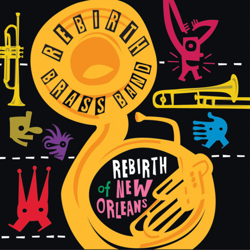 Congratulations to Rebirth Brass Band, honored as Entertainer of the Year and Album of the Year for their Grammy winning CD, Rebirth of New Orleans, at Gambit's Big Easy Entertainment Awards.