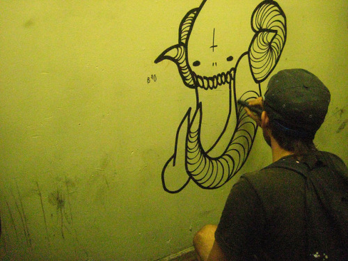 graffitisincedayone:  untitled by BruceLabounty802 on Flickr.