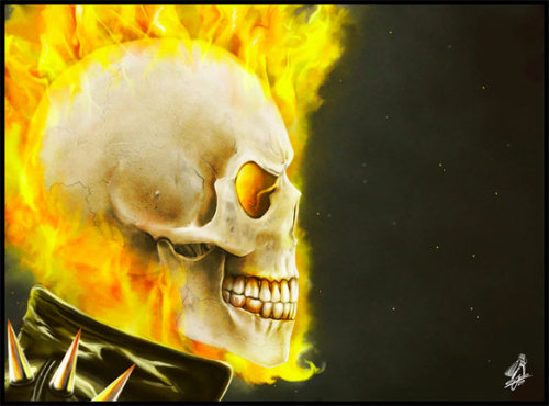 youngman05:  Ghost Rider  Skull Gang!!!   By: Andy Jones