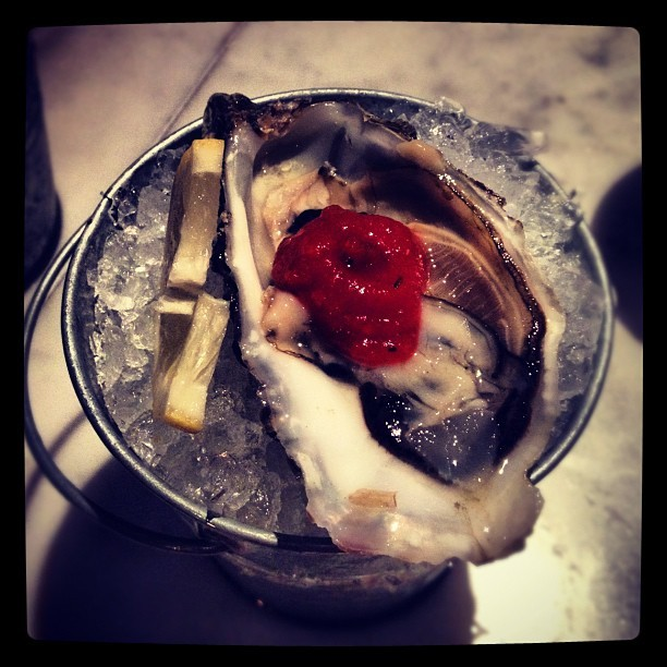 A lil' oyster madness from @messhallLA. #lifeishard (Taken with Instagram at Short Order)