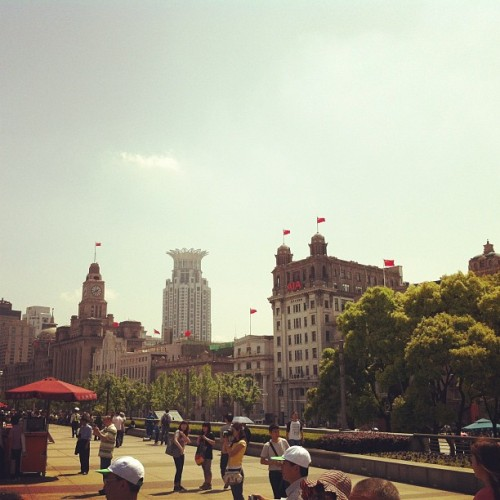 Old world. #travel  (Taken with Instagram at 外滩 | The Bund)