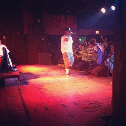 @stylep killin it !!! #NYC WE IN HERE #DBLOCK  (Taken with instagram)
