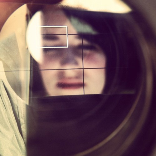 Looking thru the lense! (Taken with instagram)