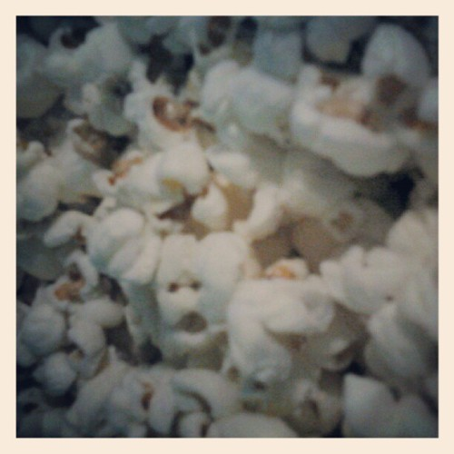 Popcorn! Yay! (Taken with instagram)