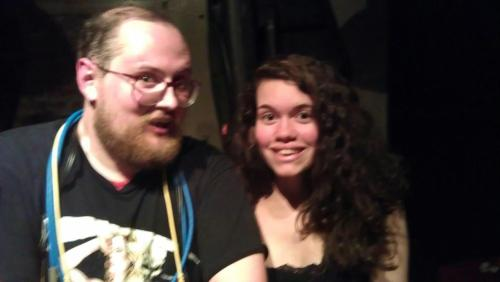 Dan Deacon, you wonderful man, you. Tonight might have made up for this whole week.