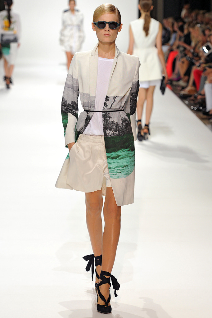 Amazing printed coat from the Dries Van Noten SS12 collection