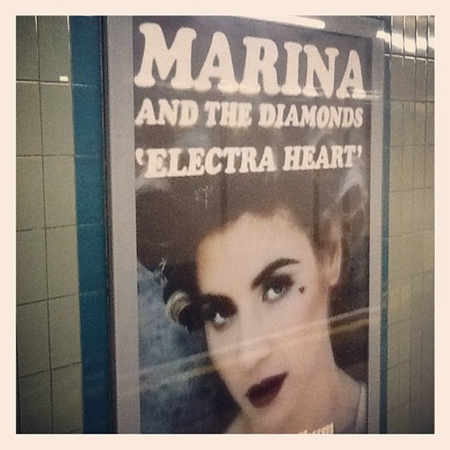 jonsams:  Marina in the Tube (Taken with instagram)