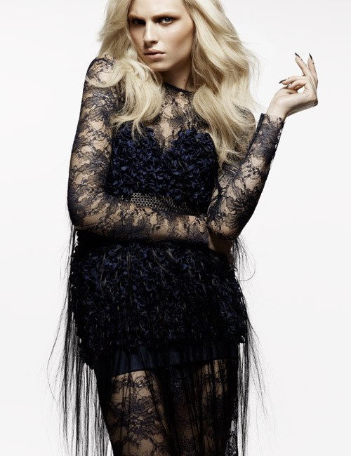 Fashion Canada February 2012Andrej Pejic by Moo King Mikhael Kale