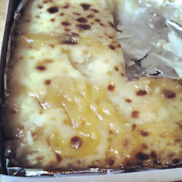 Cassava Cake w/ langka #instafood #cassavaCake #food #photooftheday  (Taken with instagram)