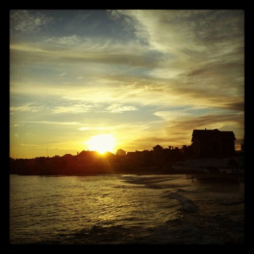 #Sunset in #Cascais (#Portugal, 2011) (Tomada con instagram)