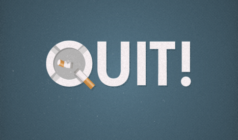 Graphic Design of the Day - Quit Smoking! A Fresh Start…www.umutyildiz.com.trhttp://dailydesignchallenge.tumblr.com/http://dailyinstagramchallenge.tumblr.com/