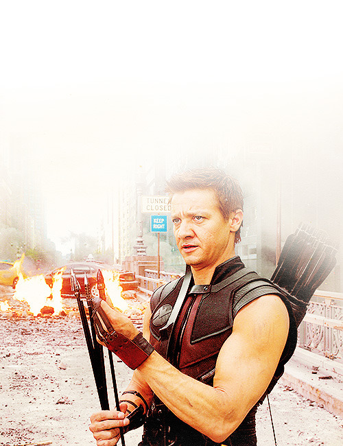 Hawkeye was even more badass than I imagined and I imagined a lot of badassery