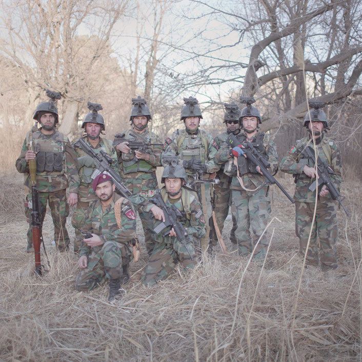 Afghan commandos in Marja District, Helmand Province. Photo: Pieter Ten Hoopen The war in Afghanistan is not over. Help us tell the story. Fund our Kickstarter.