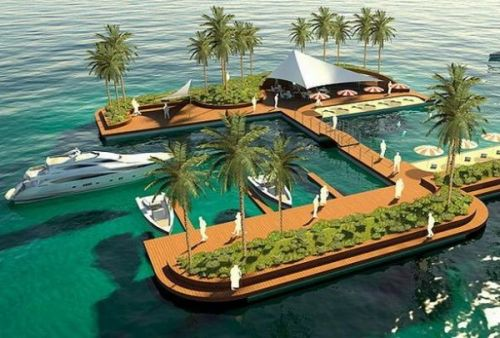 If you wish to have some ocean fun and own a private island, then Floating Pleasure Islands by the Finnish Company will definitely leave you wheezing. These will be built on concrete pontoons and will be fixed by anchors in the seabed. The cable anchors will be of Seaflex rubber, which will let the island go up and down as per the sea level. The heavy duty EPS filled concrete platform is quite durable and in turn stabilizes the overall structure. The artificial islands will have beautiful beaches and hills plus growing soil for plants and palms, which will give them a surreal appearance. These structures will have minimal impact on the sea bed and will not get in the way of water currents.