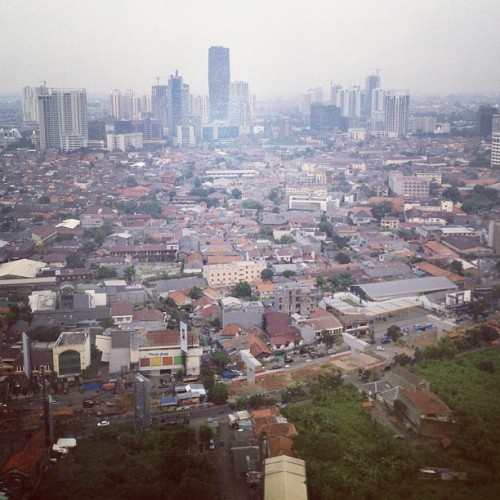 View from 35th floor (Taken with Instagram at MRCCC Siloam Hospitals)