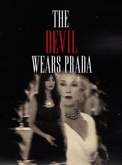 movie posters remade - The Devil Wears Prada