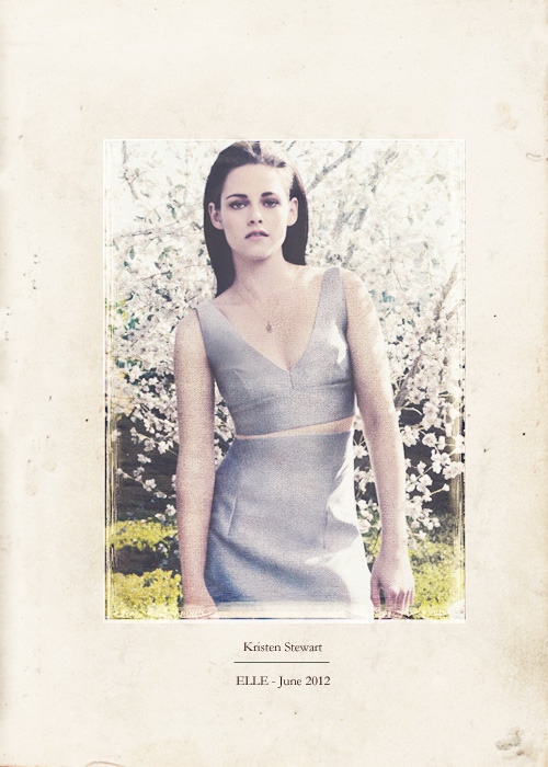 Kristen Stewart - ELLE UK, june 2012