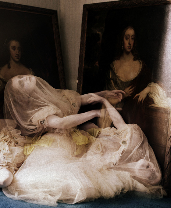 Guinevere Van Seenus for Vogue Italia by Tim Walker