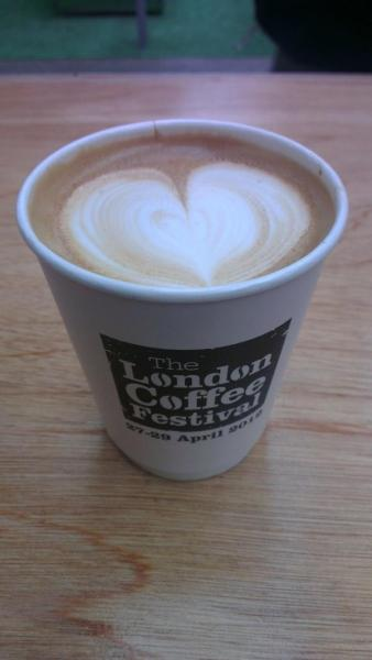 And there she is lads…. The official Lindon Coffee Festival cup http://t.co/hnSEvFMw