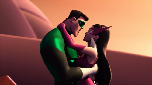 "Green Lantern: The Animated Series ""…In Love and War"" Talkback (Spoilers)http://www.toonzone.net/forums/showthread.php?294280-Green-Lantern-The-Animated-Series-quot-In-Love-and-War-quot-Talkback-%28Spoilers%29"