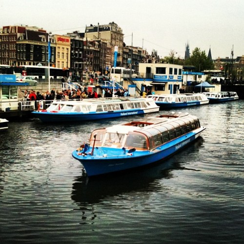 #Amsterdam #holiday #travel #boat #vacation #tourist  (Taken with instagram)