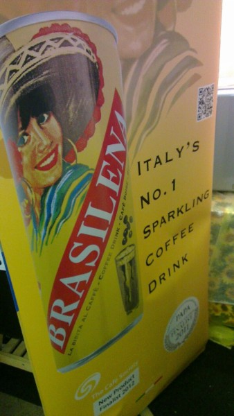 Italy's favourite sparkling coffee drink! Serve chilled ;)