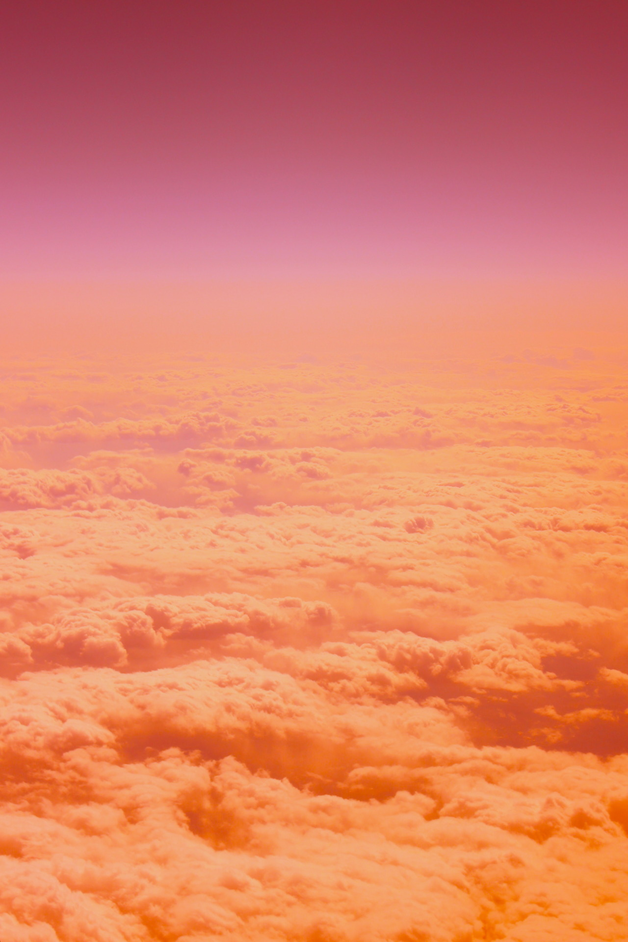 #clouds #peach #pink #purple