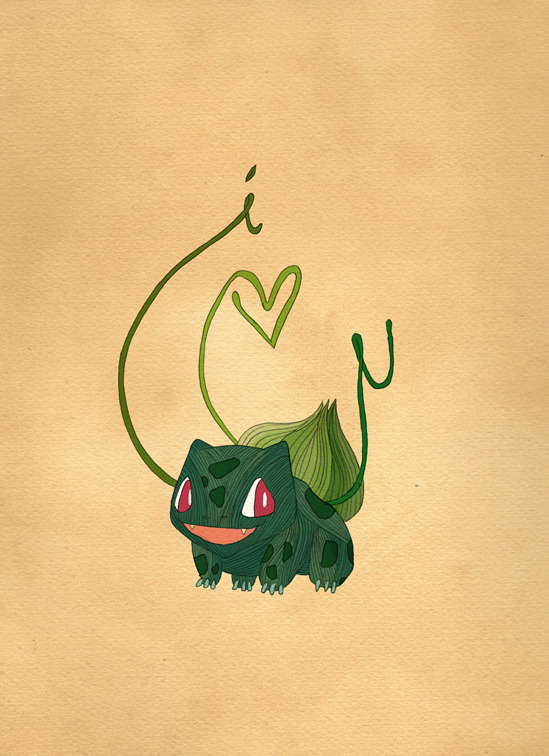 Drawn for my favourite poke fan.