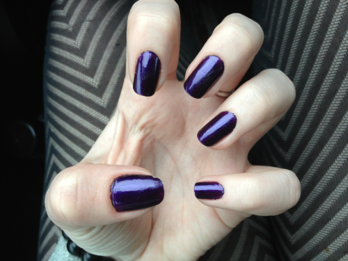 prettynailsblog:  barry m - vivid purple I am obsessed with this colour. the picture doesn't do it justice.