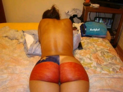 allthickwomen:  Im not sure which flag that is but that ass is phatter than your average!