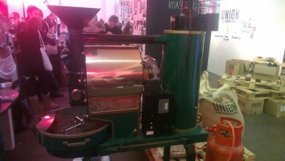 The San Franciscan roaster, used by Union Coffee